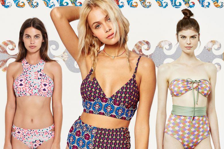 Costumi: le stampe per l'estate