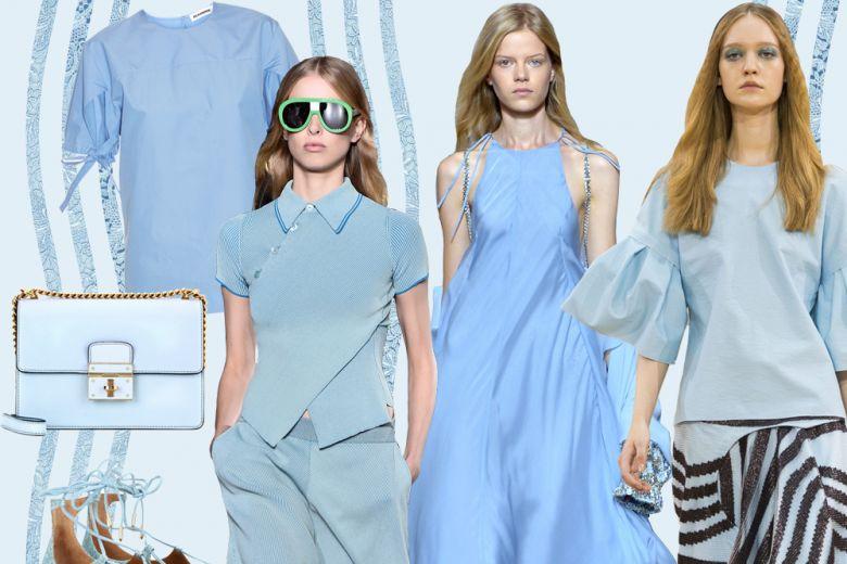 Le sfumature di azzurro per l'estate 2016