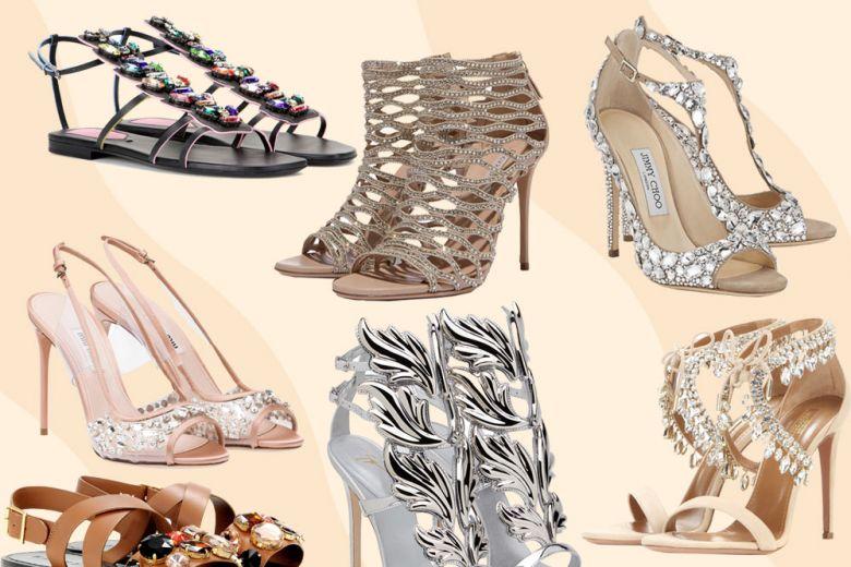 Sandali gioiello: le versioni più scintillanti dell'estate