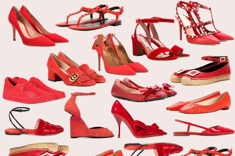 Le scarpe rosse più belle della Primavera-Estate 2016