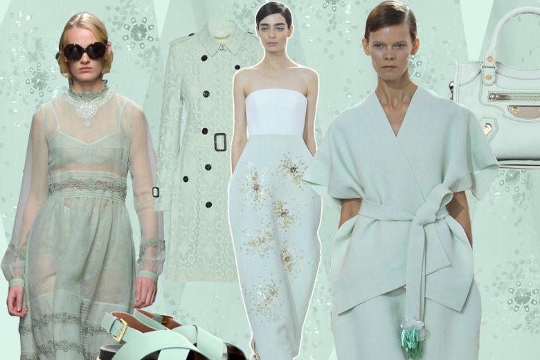 Verde menta: il colore rinfrescante per l'estate 2016