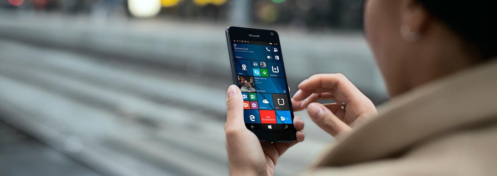 Lumia 650 Desktop Cover