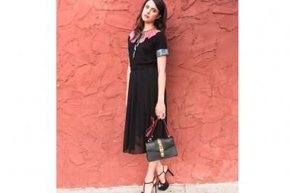 margaret qualley total look gucci