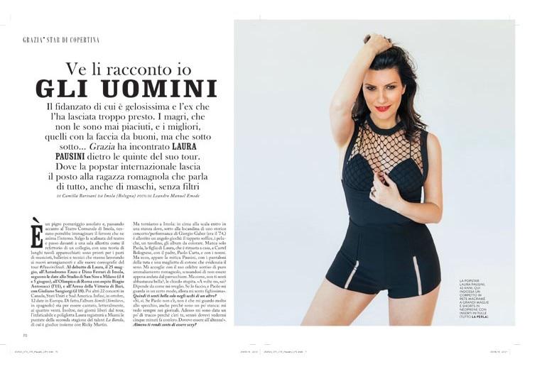 Laura Pausini: «Ve li racconto io gli uomini»
