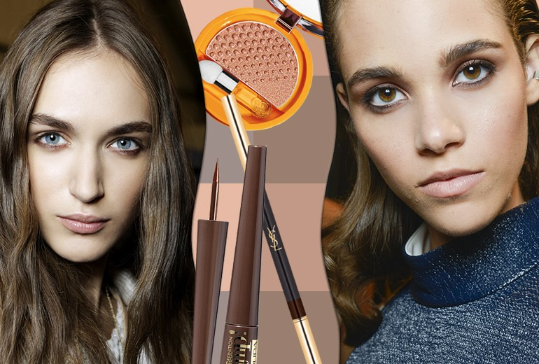 Smokey eyes marrone: le idee più cool del momento