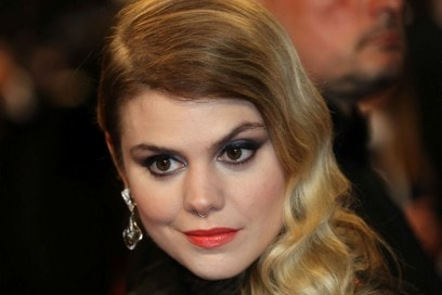 songwriter and pianist Beatrice Martin, aka Coeur de Pirate cannes