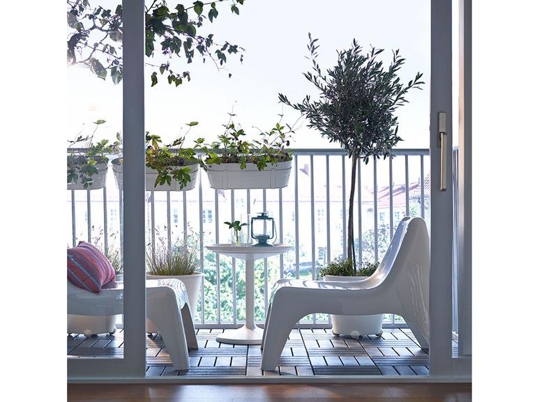 Ikea 20 ispirazioni per arredare il terrazzo grazia - Arredo terrazzo design ...
