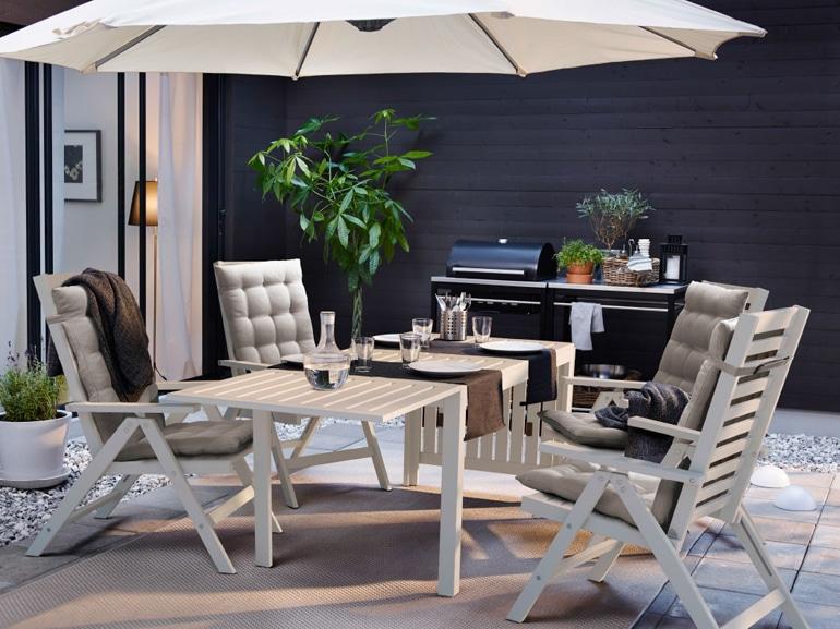 Ikea 20 ispirazioni per arredare il terrazzo grazia for Arredi per terrazzo