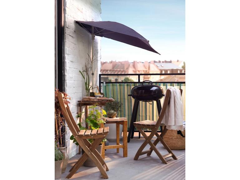 Ikea 20 ispirazioni per arredare il terrazzo grazia for Ikea ombrelloni terrazzo