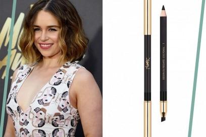 trucco occhi verdi Emilia Clarke