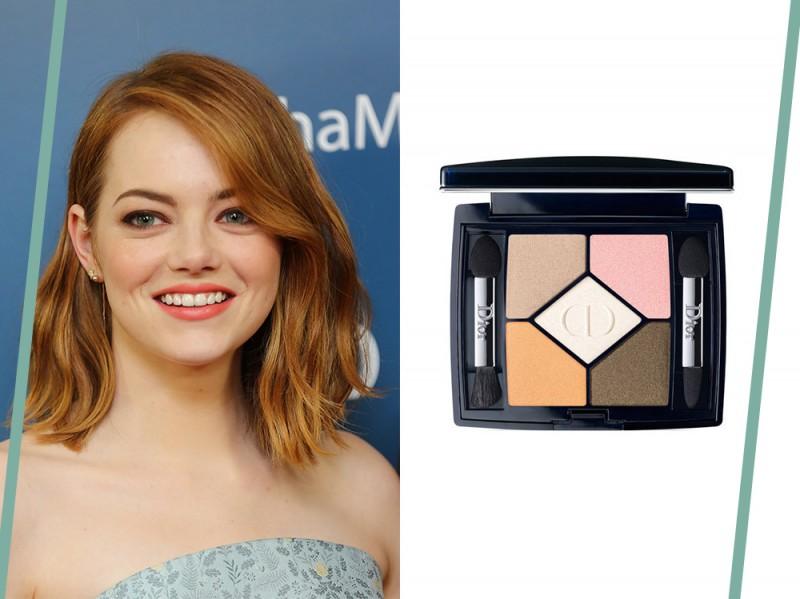 trucco occhi verdi Emma Stone