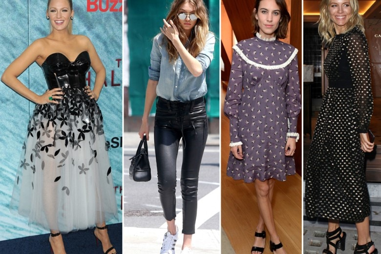 Le best dressed della settimana: Blake Lively, Kate Moss e le altre