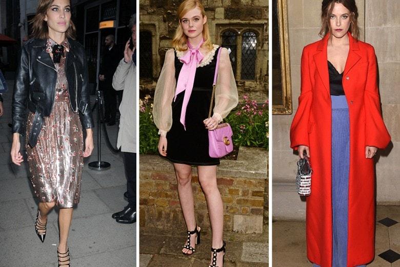 Le best dressed della settimana: Alexa Chung, Dakota Fanning e Charlotte Casiraghi