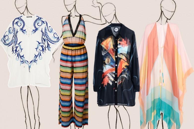 Caftani e beachwear per l'estate: cosa indossare per andare al mare