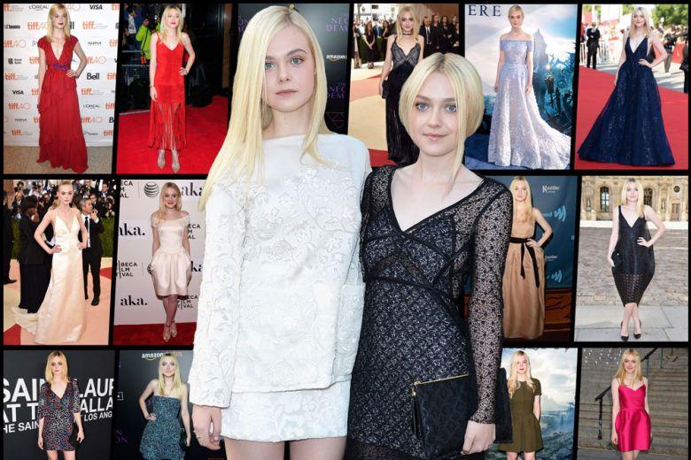 Dakota Vs Elle: i look delle sorelle Fanning a confronto