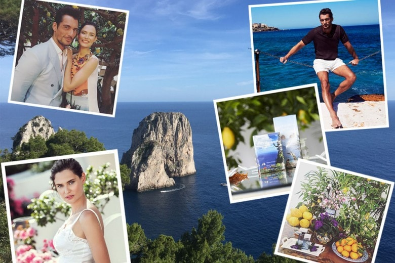 Dolce & Gabbana Light Blue Love in Capri con David Gandy e Bianca Balti