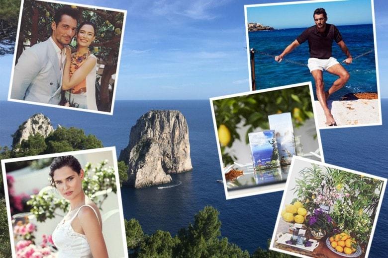 Dolce & Gabbana Light Blue Love in Capri con David Gandy e Bianca Balti