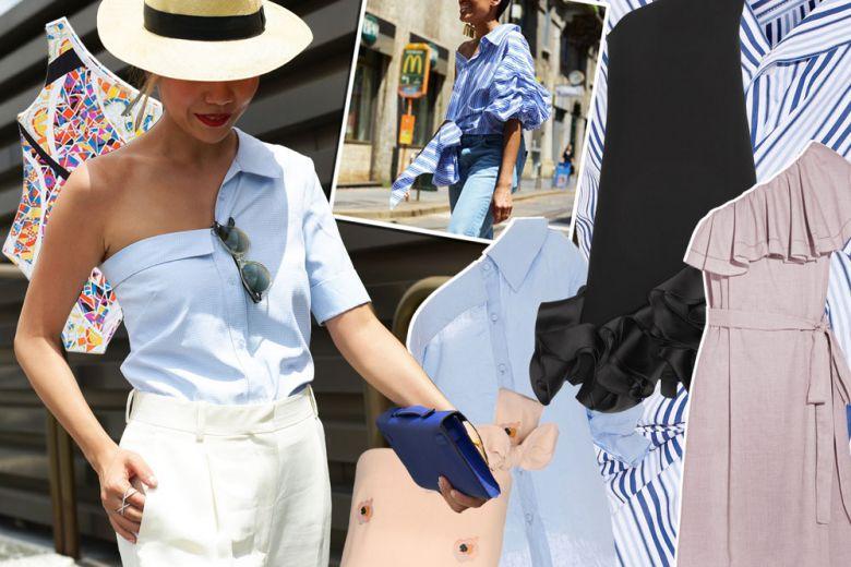 One-shoulder: la tendenza dei capi monospalla per l'estate 2016