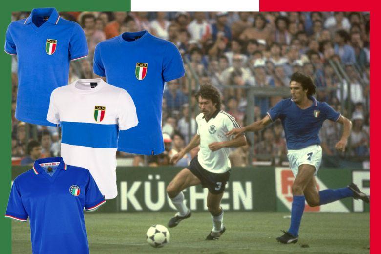 Le maglie più belle della Nazionale Italiana
