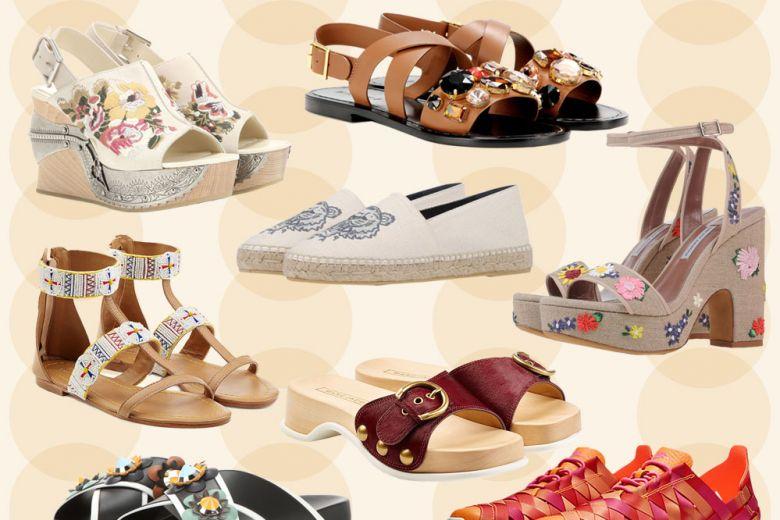 Le scarpe per l'estate 2016
