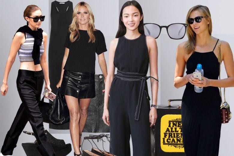 Vestirsi di nero (anche) in estate: 4 idee