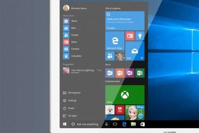 Huawei Matebook – Windows 10