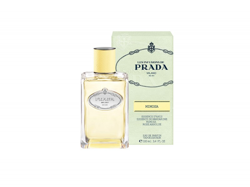 LES INFUSIONS DE PRADA – INFUSION MIMOSA – BOTTLE & OUTERPACK