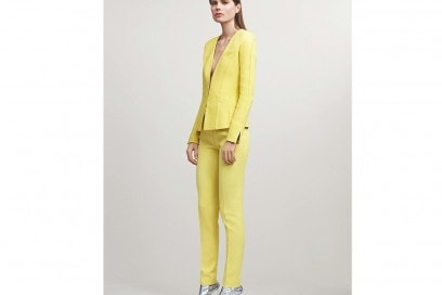 Mugler The yellow suit