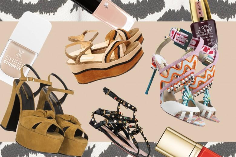 Unghie: gli abbinamenti smalti e sandali per l'Estate 2016