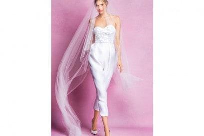 abito-sposa-pantaloni angel sanchez 2016 fall