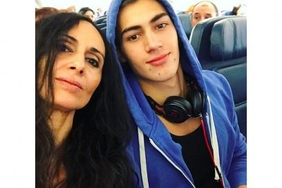 alessio pozzi selfie mamma
