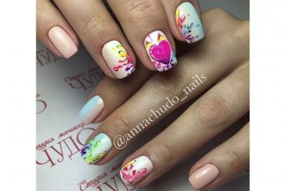 annachudo_nails  nail art estate instagram