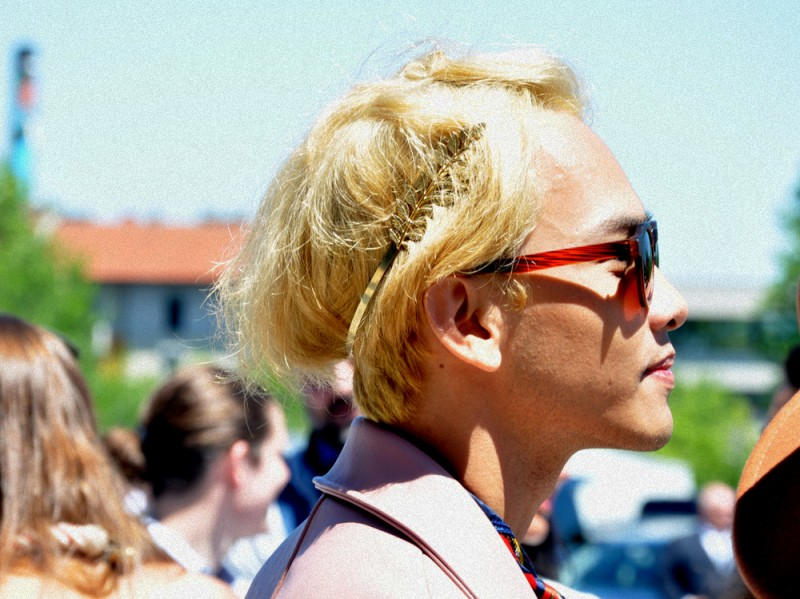 capelli raccolti accessori