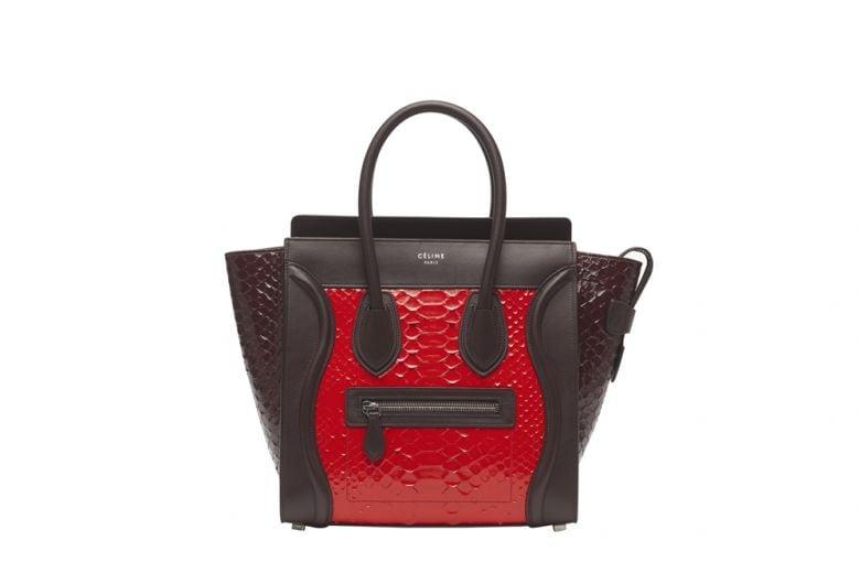 Le nuove borse Luggage di Céline per l'autunno in arrivo