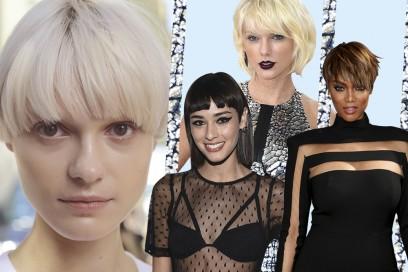 Frangia e capelli corti: le idee da copiare ora