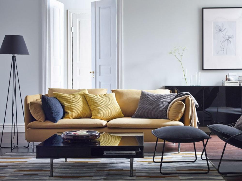 Divano Nero Ikea : Catalogo ikea i salotti più belli