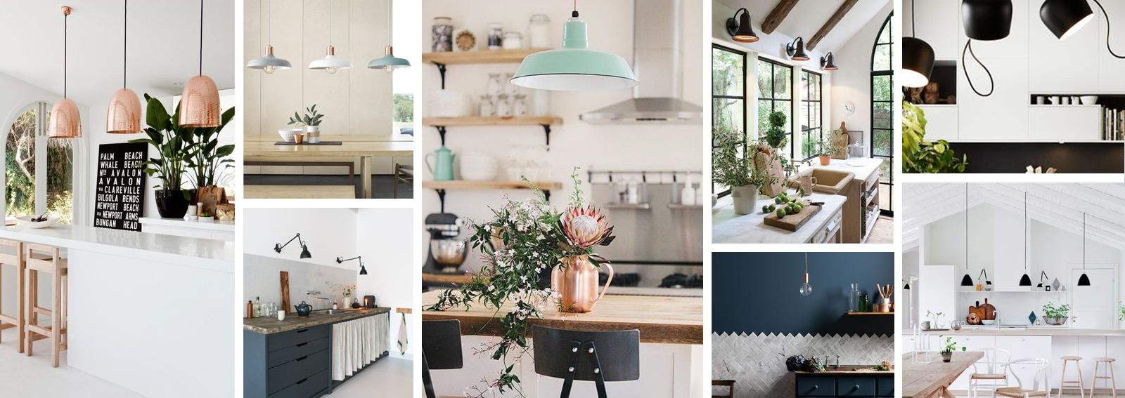 Come illuminare la cucina 15 idee da copiare grazia - Illuminazione per cucina moderna ...