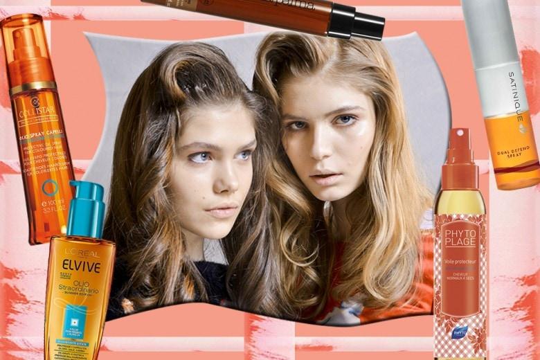 Come proteggere i capelli dal sole con i prodotti giusti