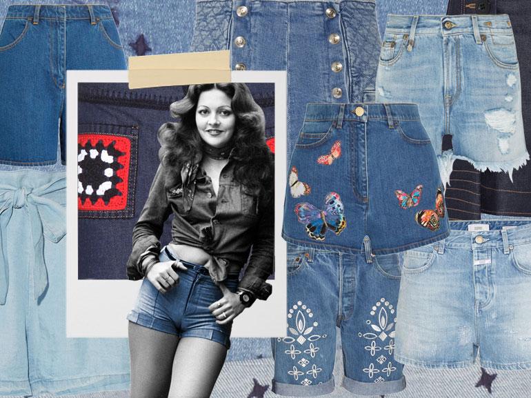 cover denim shorts le versioni più glam mobile