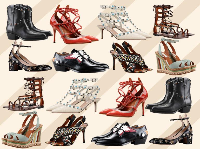 cover scarpe valentino estate 2016 mobile