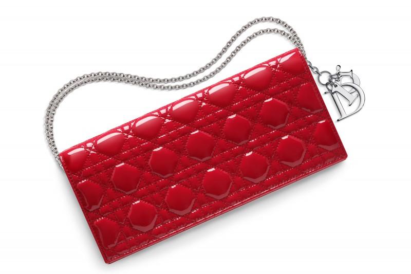 dior pochette rosso