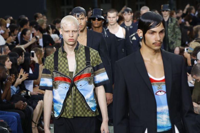 Givenchy: l'uomo della Primavera-Estate 2017