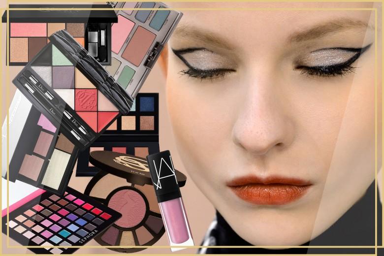 Palette make up: le trousse con ombretti, blush e rossetti