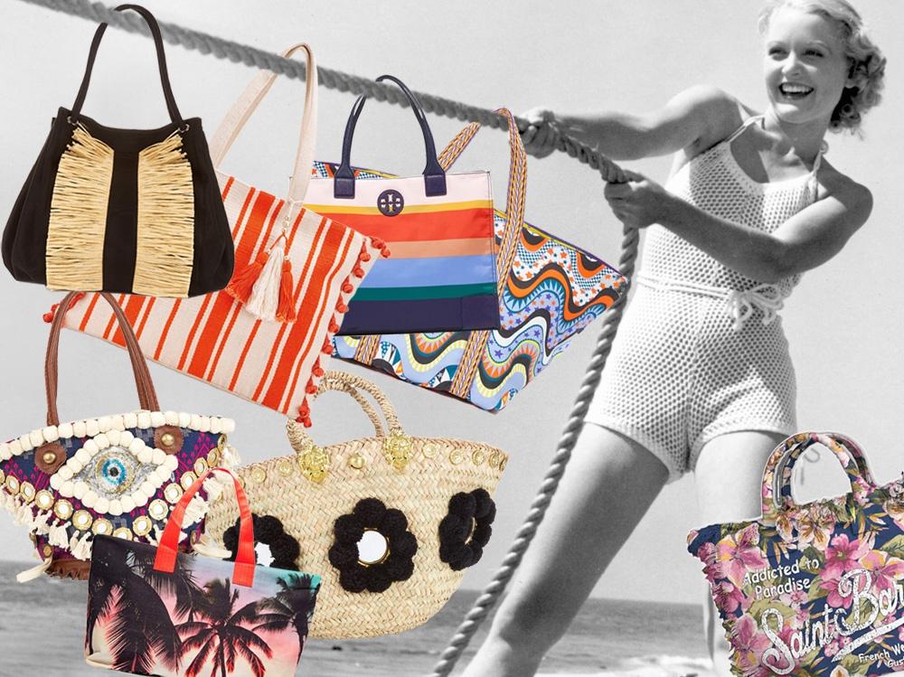 Borse Da Spiaggia Per Uomo : Borse da spiaggia le versioni non perdere per l estate