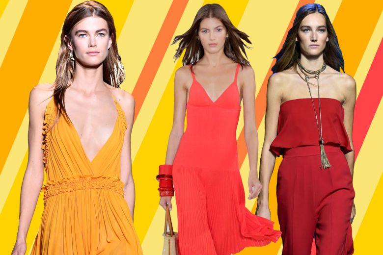 I colori caldi protagonisti dell'estate 2016