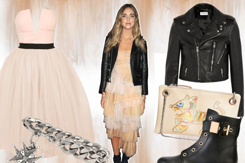 Chiara Ferragni in Burberry: look romantico per l'estate