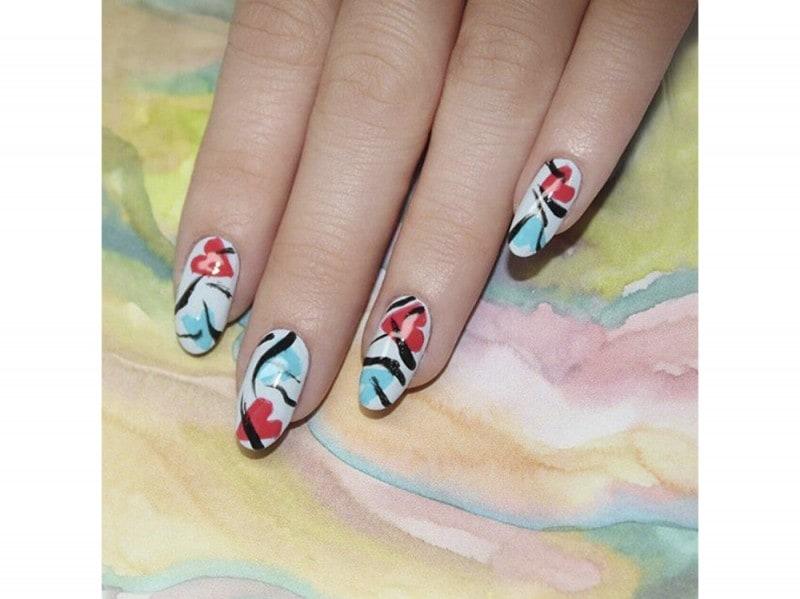 jinsoonchoi  nail art estate instagram