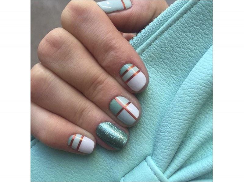 kraftyourjams  nail art estate instagram