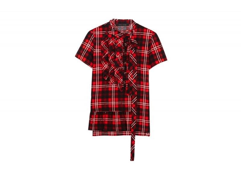 marc-jacobs-tartan-ruches-camicia