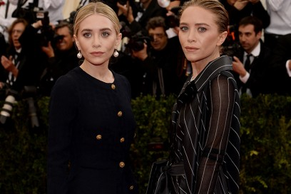 mary kate ashley olsen red carpet